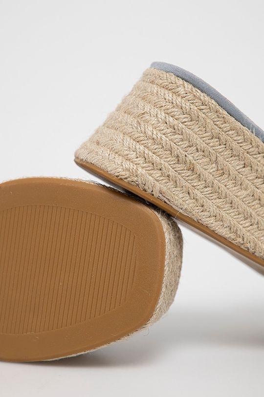Answear Lab - Klapki Cholewka: Materiał tekstylny, Wnętrze: Materiał syntetyczny, Materiał tekstylny, Podeszwa: Materiał syntetyczny