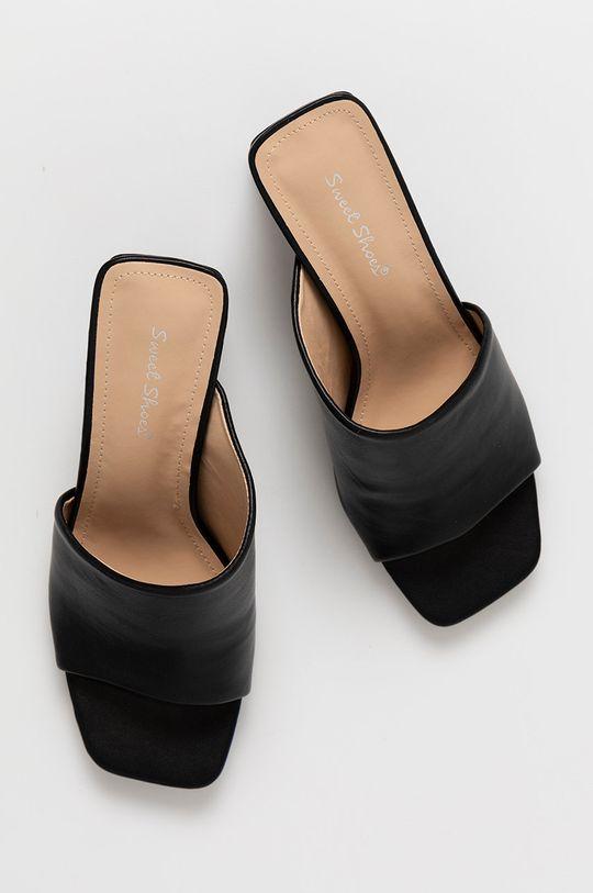 czarny Answear Lab - Klapki Sweet Shoes