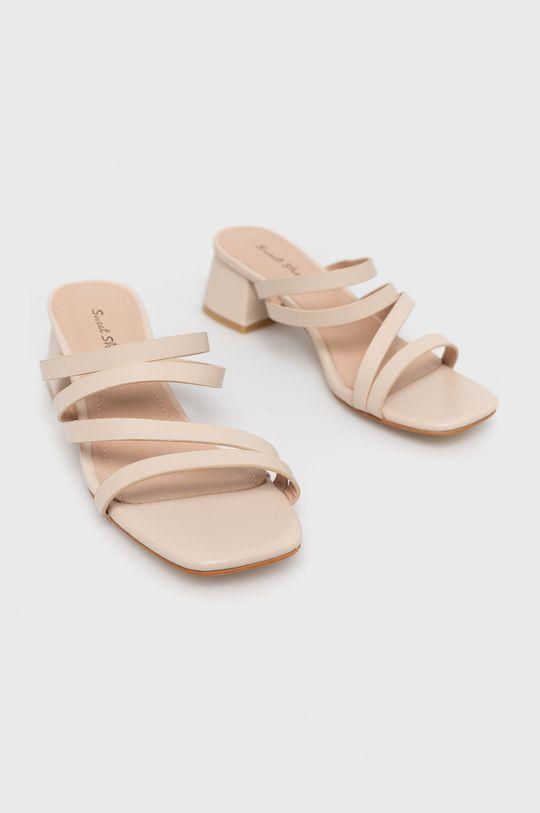 Answear Lab - Šľapky Sweet Shoes béžová