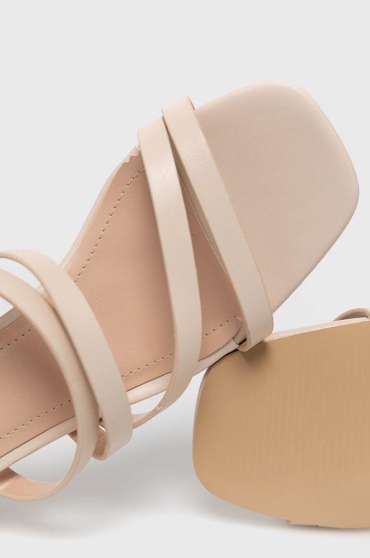 béžová Answear Lab - Šľapky Sweet Shoes