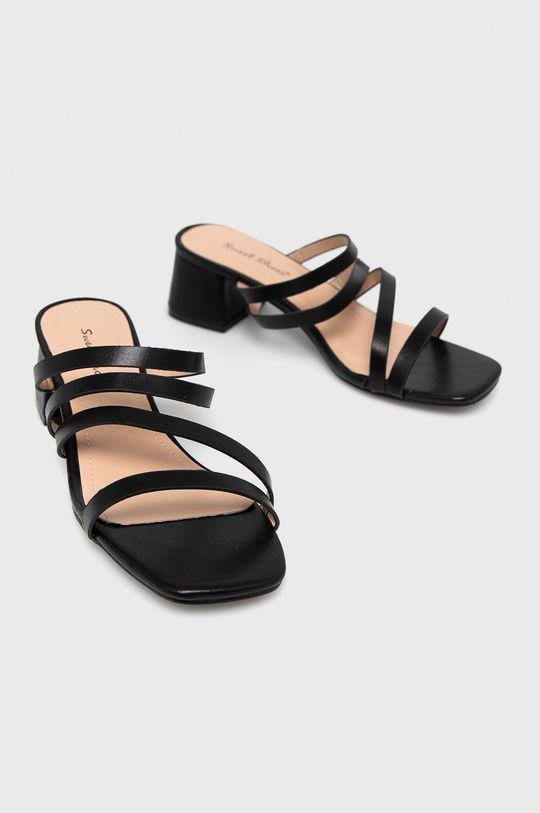Answear Lab - Klapki Sweet Shoes czarny