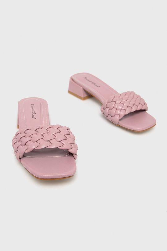 Answear Lab - Шльопанці Sweet Shoes лавандовий