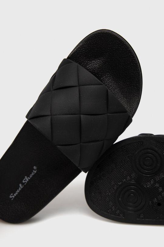 Answear Lab - Klapki Sweet Shoes Materiał syntetyczny