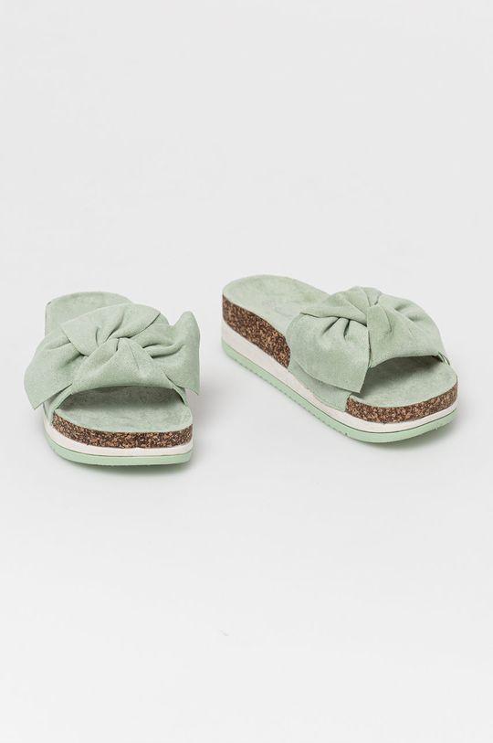 Answear Lab - Klapki Sweet Shoes miętowy
