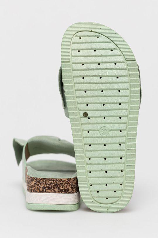 Answear Lab - Klapki Sweet Shoes Cholewka: Materiał tekstylny, Wnętrze: Materiał syntetyczny, Materiał tekstylny, Podeszwa: Materiał syntetyczny