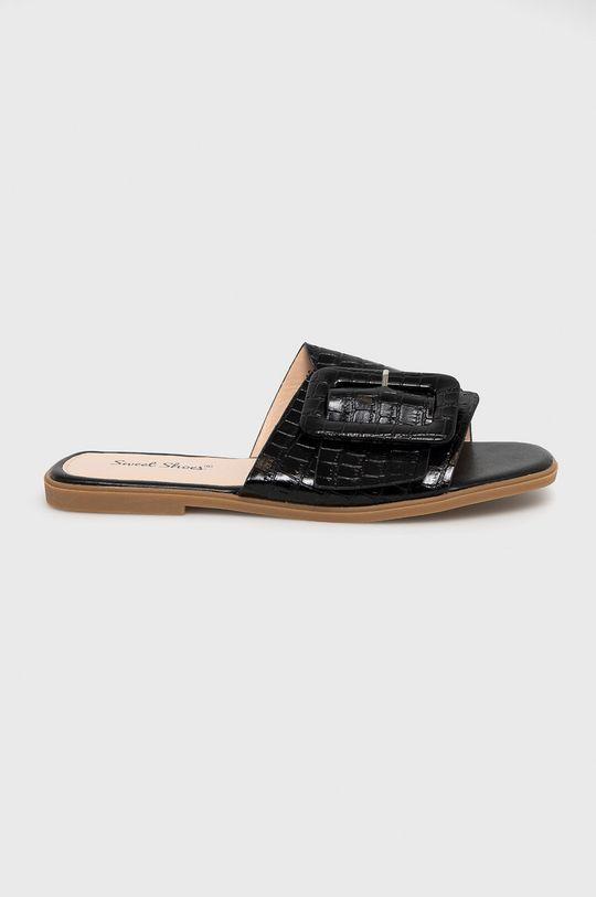 чорний Answear Lab - Шльопанці Sweet Shoes Жіночий