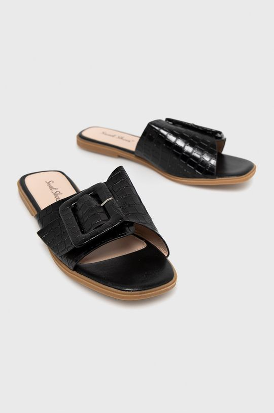 Answear Lab - Шльопанці Sweet Shoes чорний