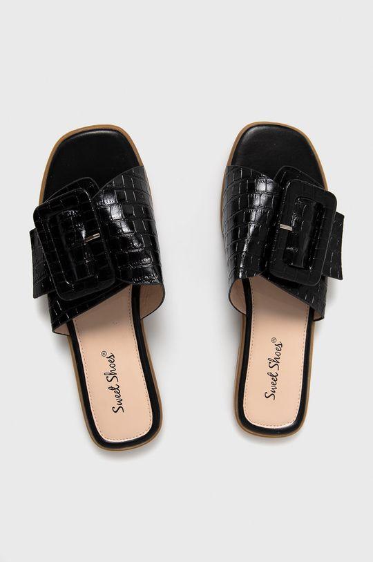 чорний Answear Lab - Шльопанці Sweet Shoes