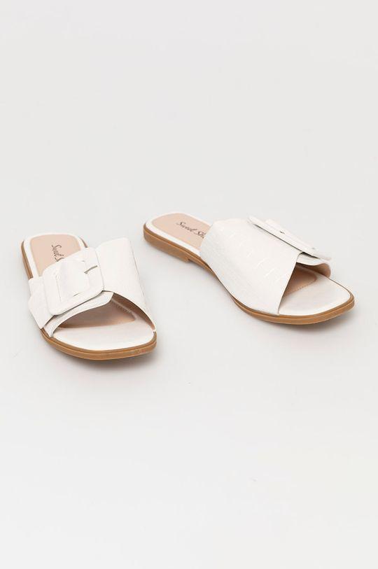 Answear Lab - Pantofle Sweet Shoes bílá