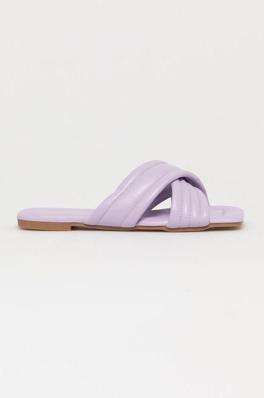 levandulová Answear Lab - Pantofle Sweet Shoes Dámský