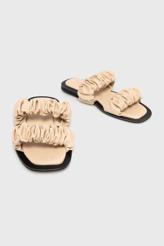 Answear Lab - Шльопанці Sweet Shoes бежевий