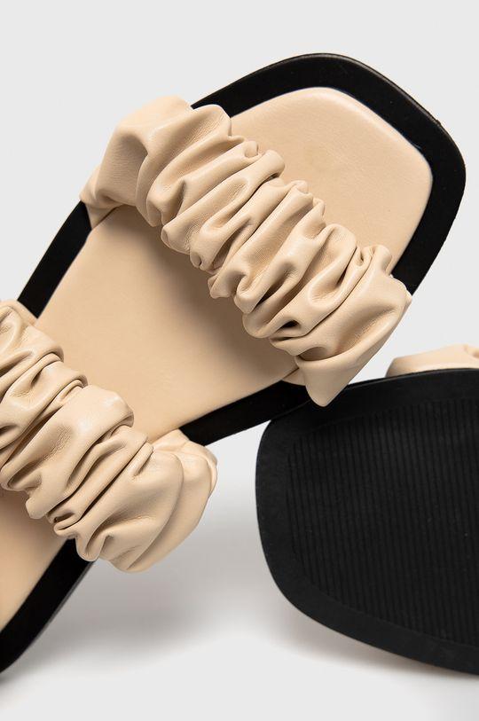 бежевий Answear Lab - Шльопанці Sweet Shoes