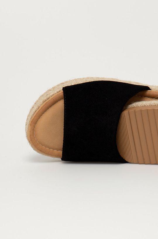 Answear Lab - Pantofle Ciaodea  Svršek: Textilní materiál Vnitřek: Umělá hmota Podrážka: Umělá hmota