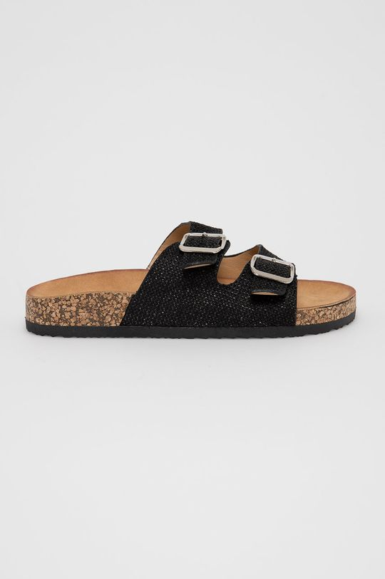 černá Answear Lab - Pantofle Ciaodea Dámský