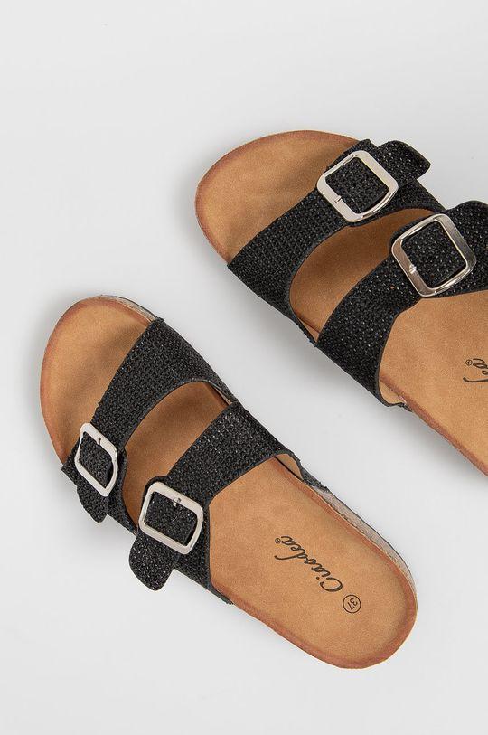 černá Answear Lab - Pantofle Ciaodea