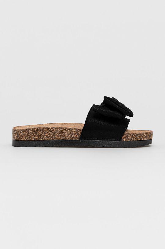černá Answear Lab - Pantofle Melissa Dámský