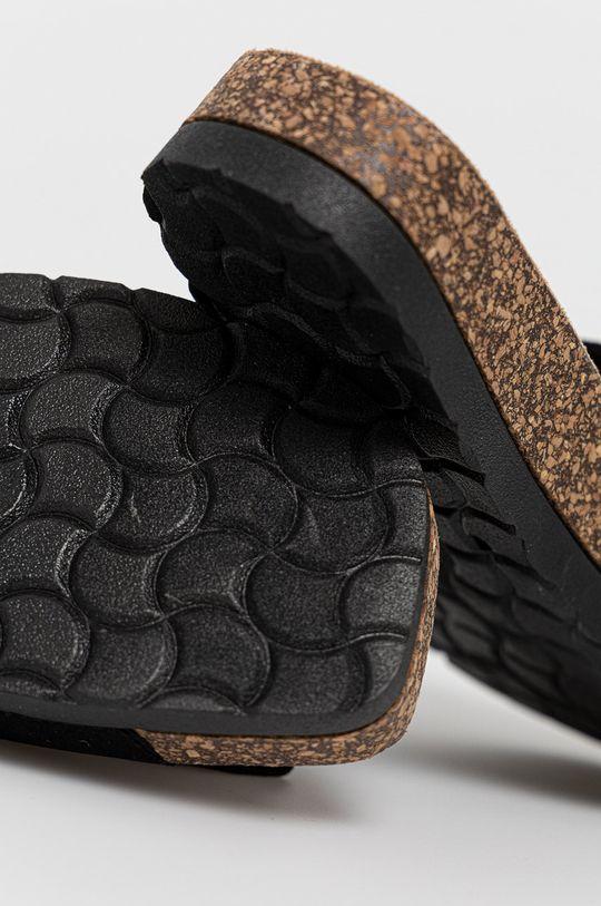 černá Answear Lab - Pantofle Melissa