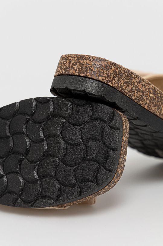 Answear Lab - Klapki Melissa Cholewka: Materiał tekstylny, Wnętrze: Materiał syntetyczny, Materiał tekstylny, Podeszwa: Materiał syntetyczny