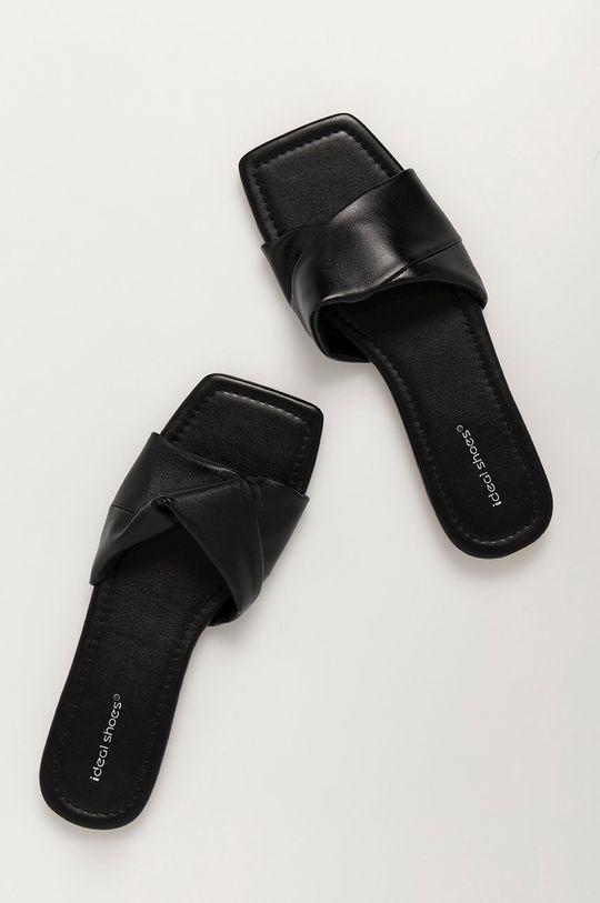 Answear Lab - Pantofle IDEAL SHOES černá