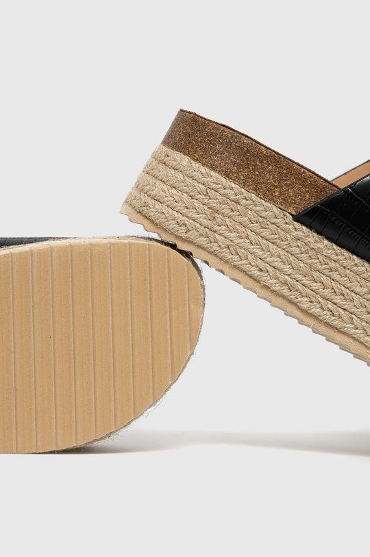 Answear Lab - Pantofle Woman Key  Svršek: Umělá hmota Vnitřek: Umělá hmota, Textilní materiál Podrážka: Umělá hmota