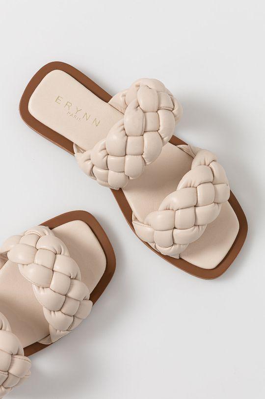 béžová Answear Lab - Pantofle Erynn