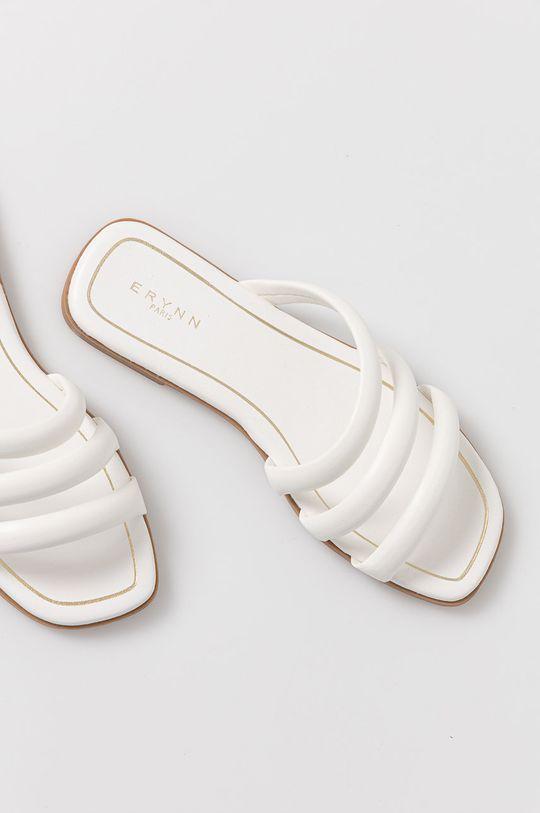 biały Answear Lab - Klapki Erynn