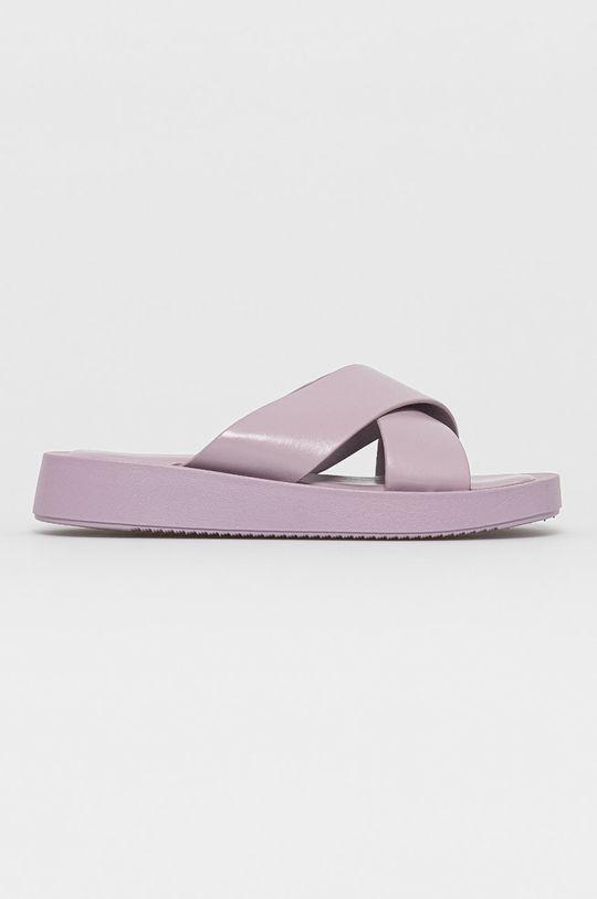 lavanda Answear Lab - Papuci Ideal Shoes De femei