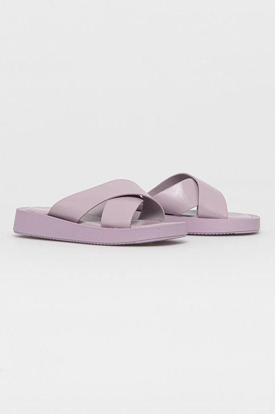 Answear Lab - Papuci Ideal Shoes lavanda