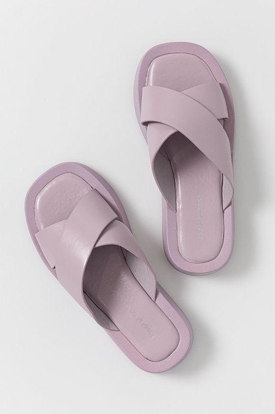 lavanda Answear Lab - Papuci Ideal Shoes