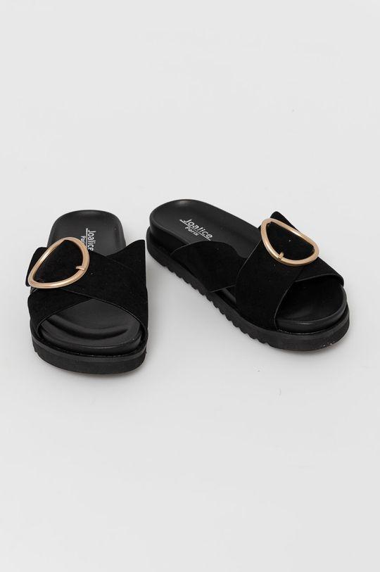 Answear Lab - Papuci Joalice negru