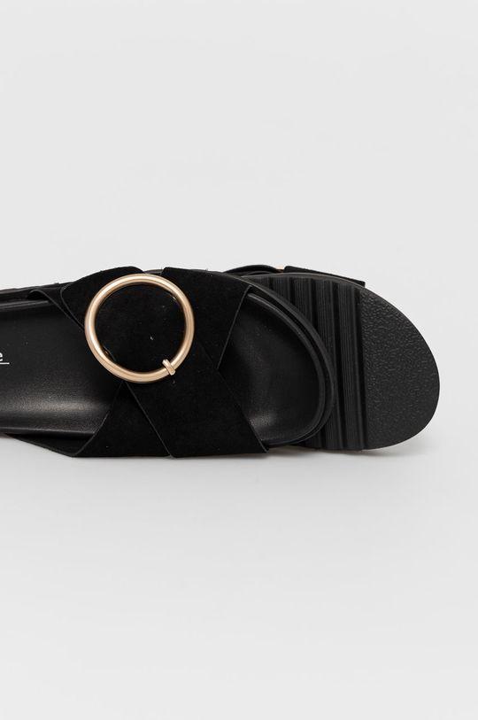 Answear Lab - Papuci Joalice  Gamba: Material textil Interiorul: Material sintetic Talpa: Material sintetic
