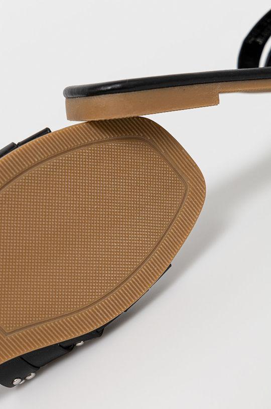 černá Answear Lab - Pantofle Bestelle