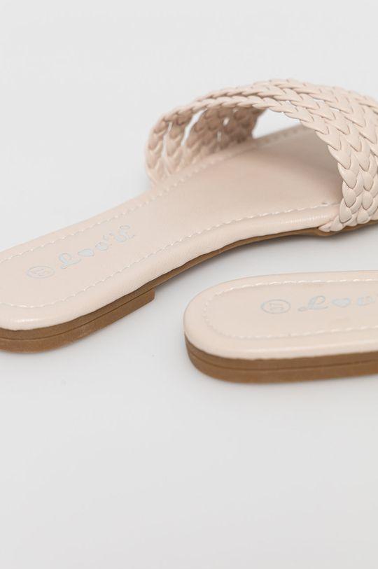 Answear Lab - Papuci lov'it  Gamba: Material sintetic Interiorul: Material sintetic Talpa: Material sintetic