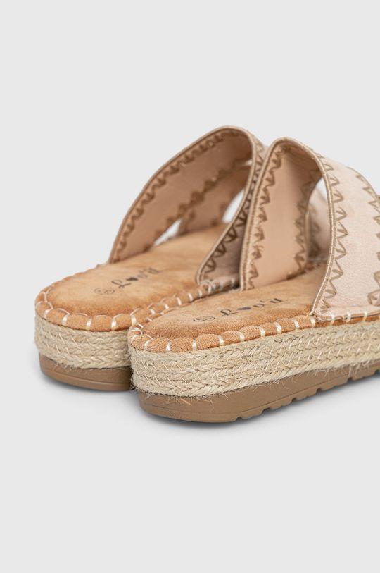 Answear Lab - Pantofle lov'it  Svršek: Textilní materiál Vnitřek: Textilní materiál Podrážka: Umělá hmota
