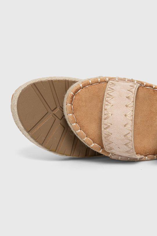 béžová Answear Lab - Pantofle lov'it