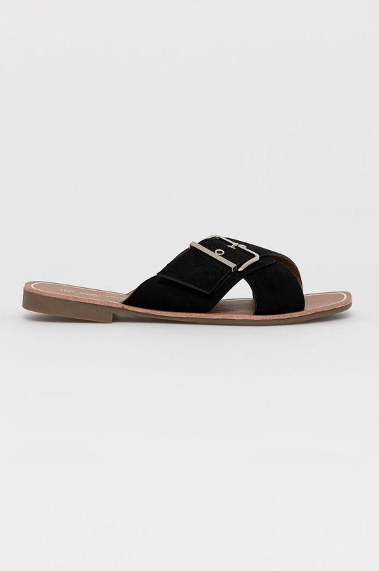czarny Answear Lab - Klapki Lily Shoes Damski