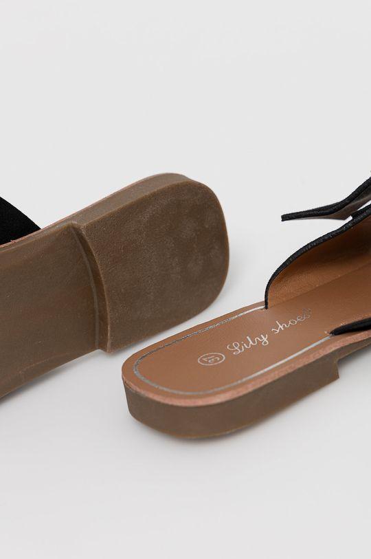 Answear Lab - Klapki Lily Shoes Cholewka: Materiał tekstylny, Wnętrze: Materiał syntetyczny, Podeszwa: Materiał syntetyczny