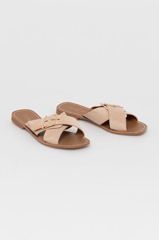 Answear Lab - Klapki Lily Shoes beżowy
