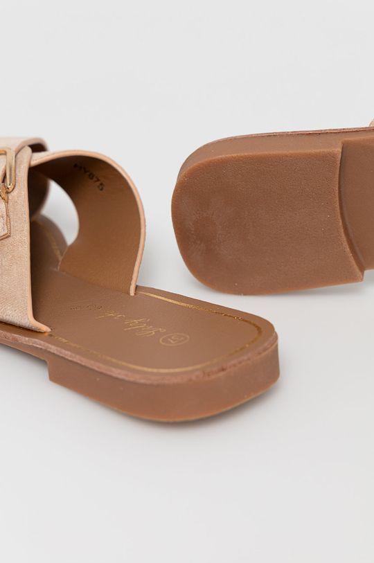 beżowy Answear Lab - Klapki Lily Shoes