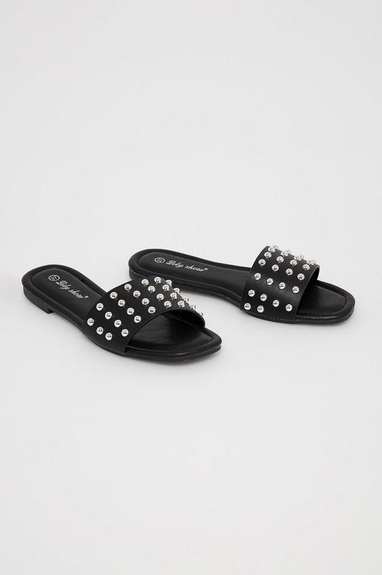 Answear Lab - Papuci Lily Shoes negru