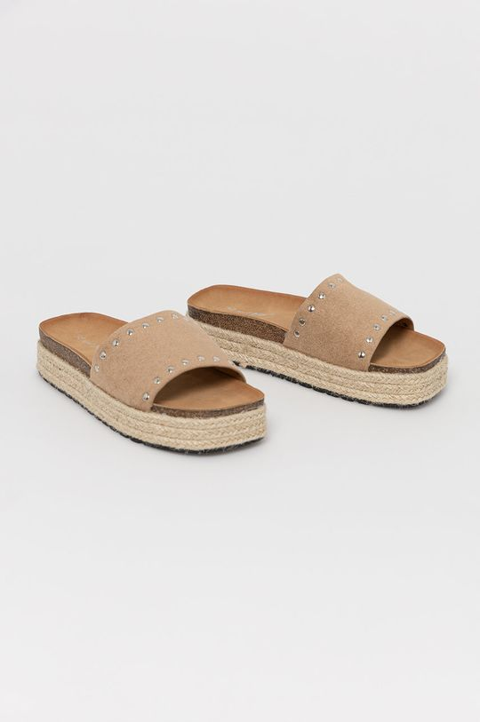 Answear Lab - Pantofle béžová