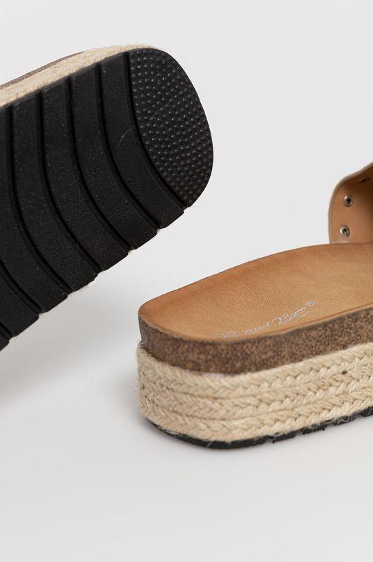 Answear Lab - Pantofle  Svršek: Textilní materiál Vnitřek: Umělá hmota, Textilní materiál Podrážka: Umělá hmota
