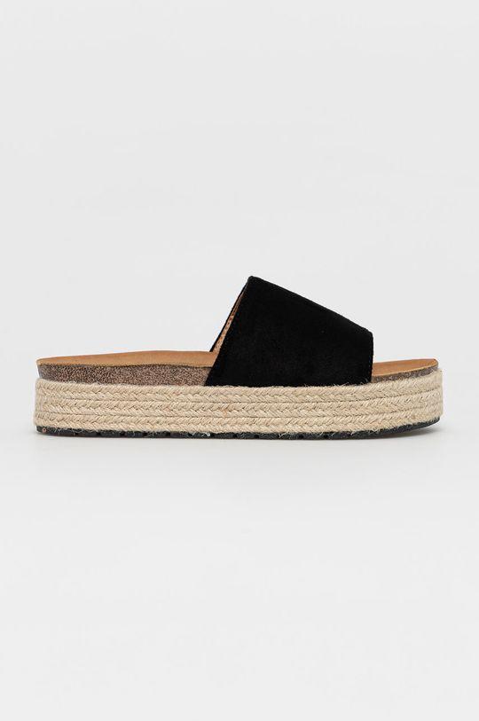 čierna Answear Lab - Šľapky Sweet Shoes Dámsky