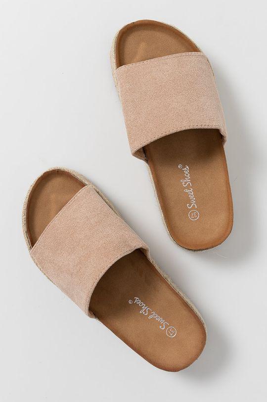 Answear Lab - Klapki Sweet Shoes cielisty