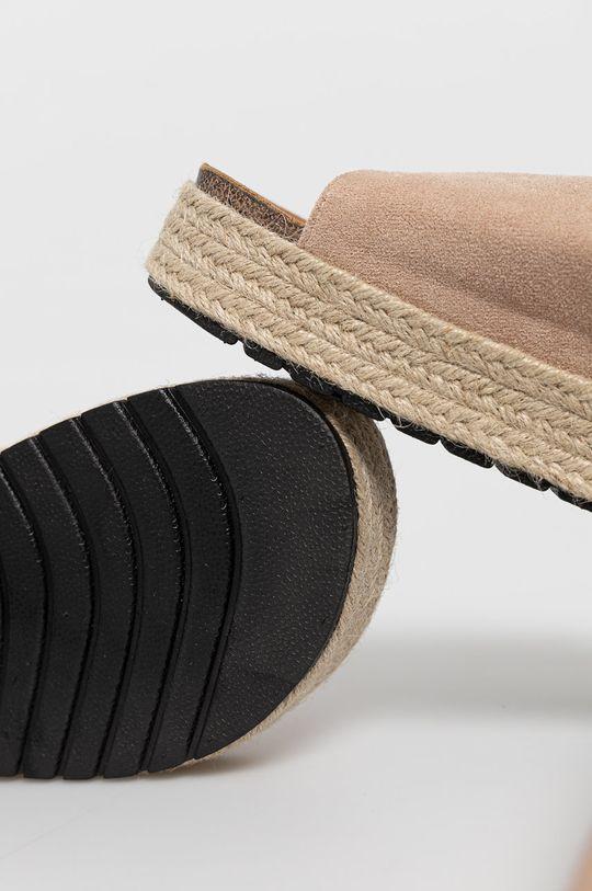 Answear Lab - Klapki Sweet Shoes Cholewka: Materiał tekstylny, Wnętrze: Materiał tekstylny, Podeszwa: Materiał syntetyczny