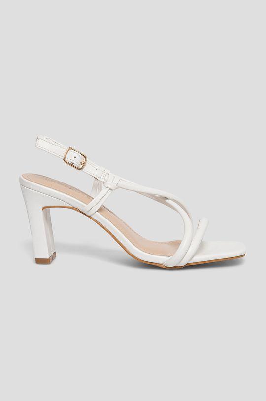 biały Answear Lab - Sandały Damerose Damski