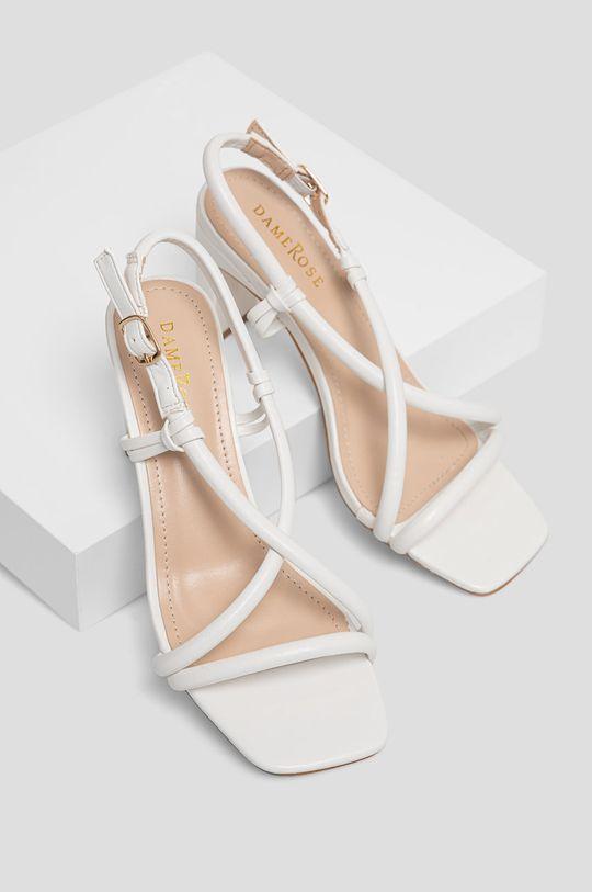 Answear Lab - Sandały Damerose biały