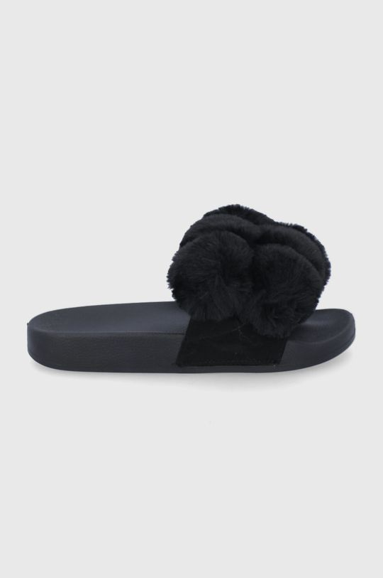 czarny Answear Lab - Kapcie Damski