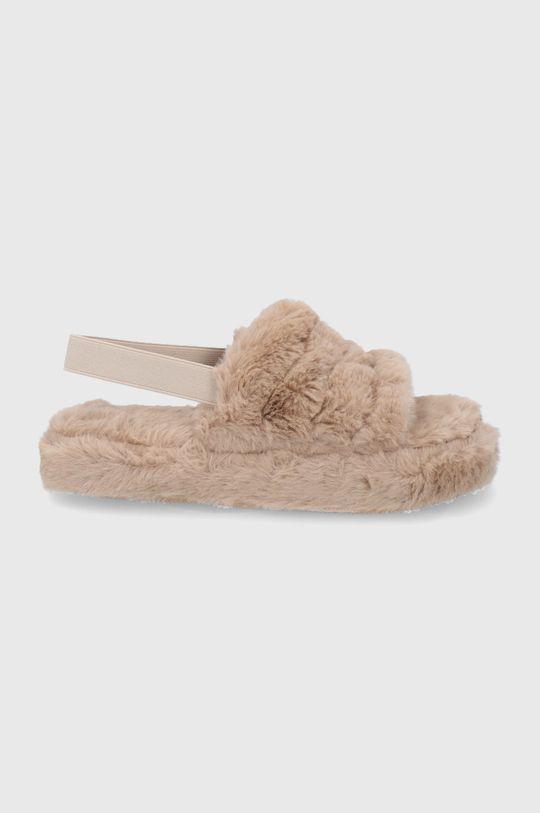 béžová Answear Lab - Pantofle Dámský