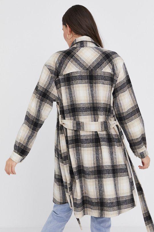 Answear Lab - Kabát PRE-WINTER  5% Elastan, 30% Polyester, 65% Viskóza